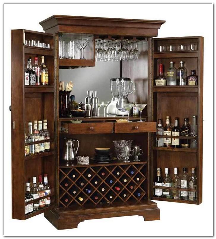 Sonoma Hide A Bar Liquor Cabinet