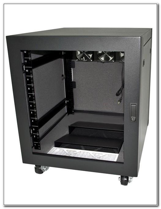 Sound Dampening Server Cabinet