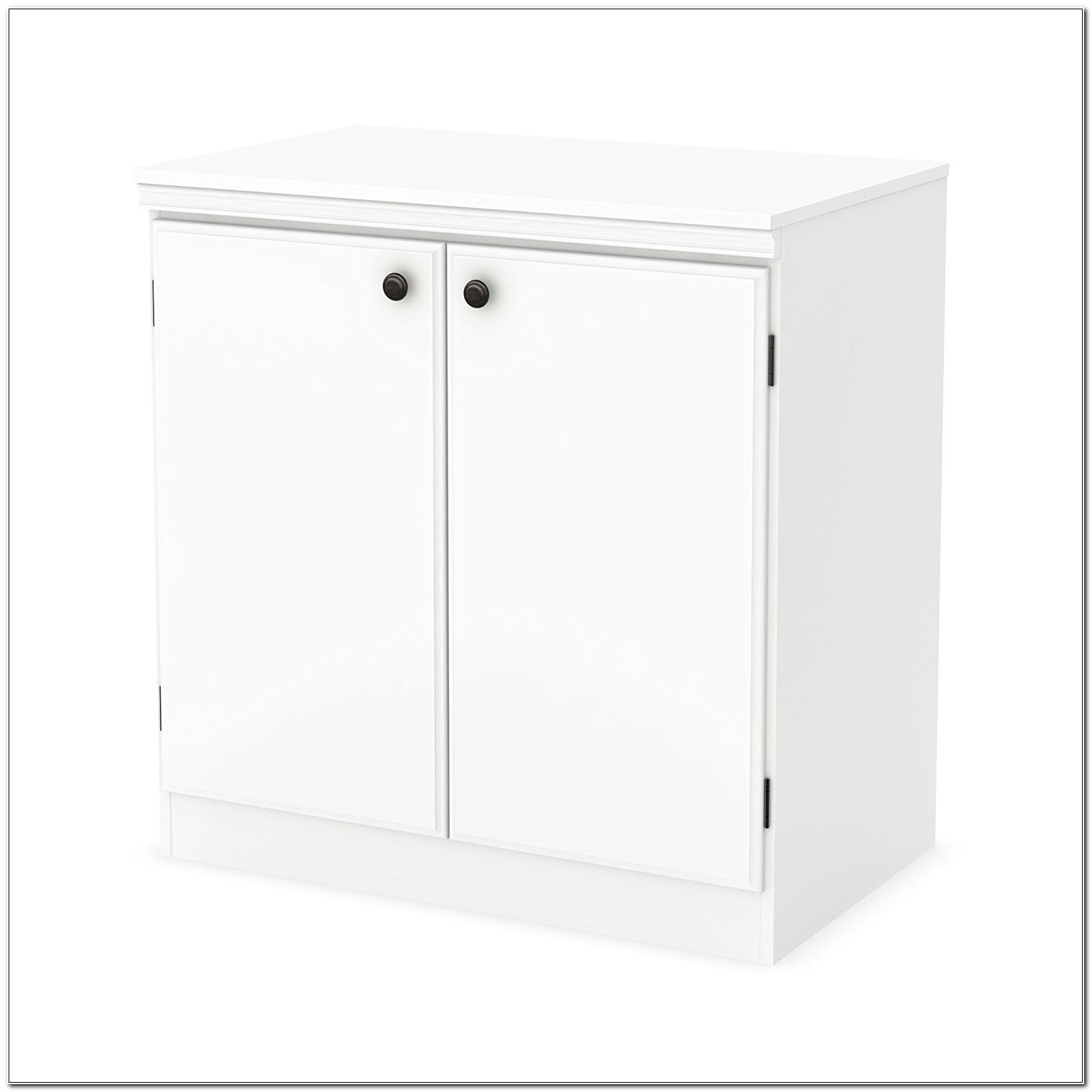 South Shore Morgan Storage Cabinet White