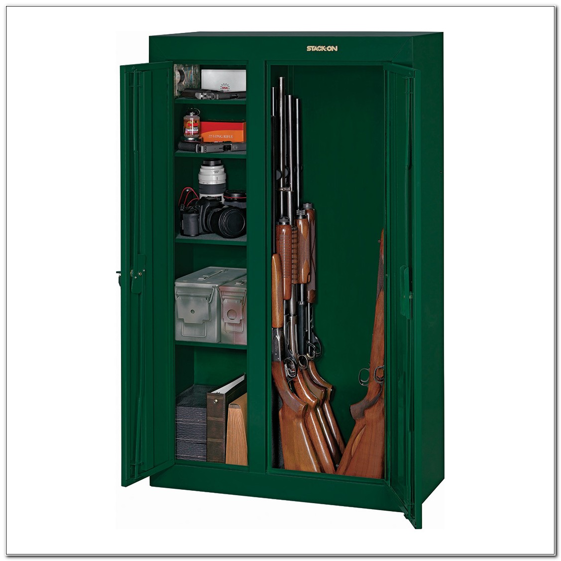 Stack On 10 Gun Convertible Cabinet