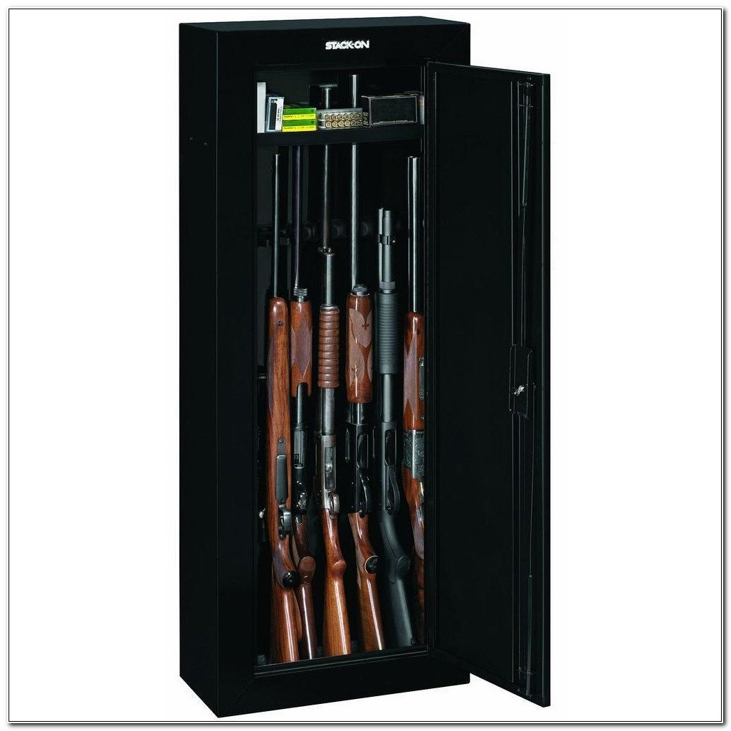 Stack On 8 Gun Steel Security Cabinet