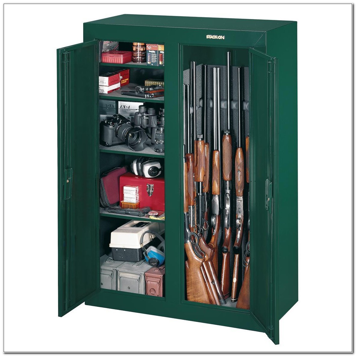 Stack On Convertible Double Door Gun Cabinet