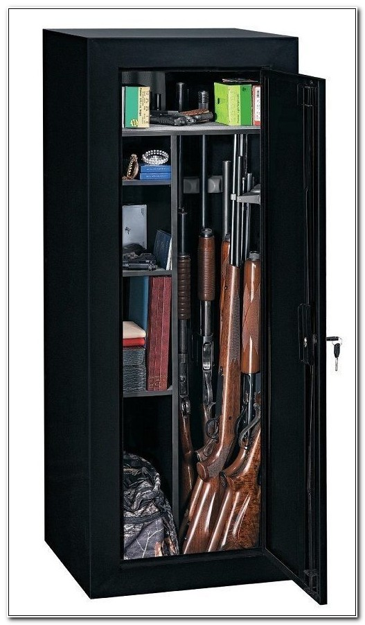 Stack On Fully Convertible 18 Gun Cabinet