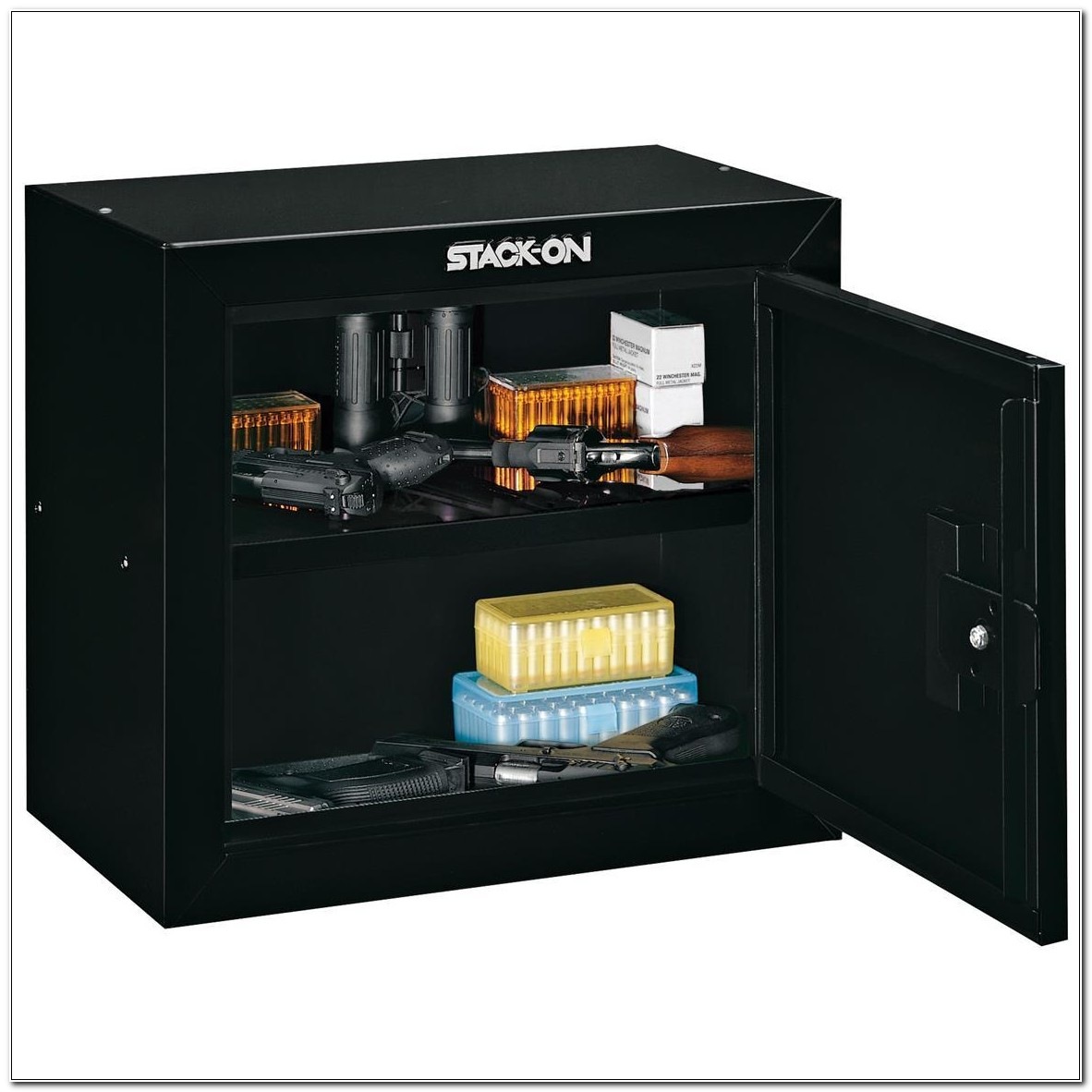 Stack On Pistol Ammo Security Cabinet