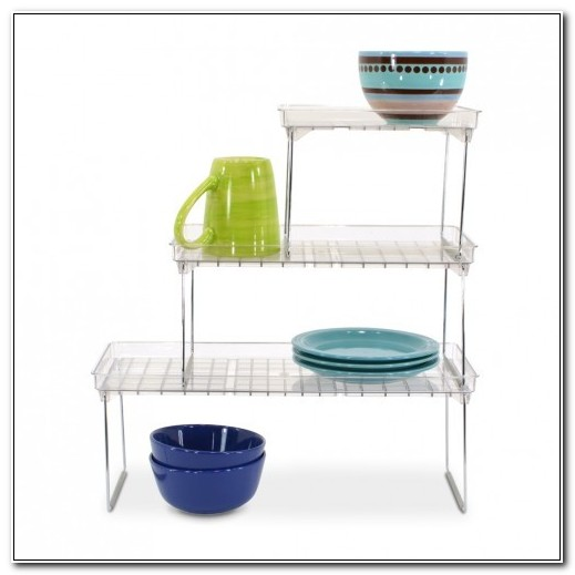 Stackable Shelves For Inside Cabinets