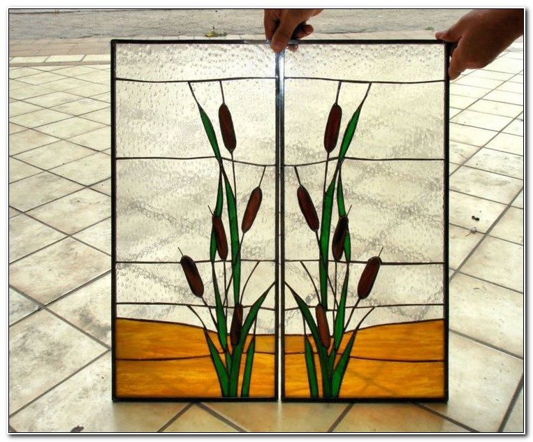 Stained Glass Panels For Cabinets
