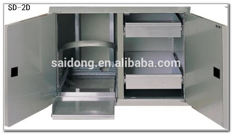 Stainless Steel Bbq Storage Cabinet