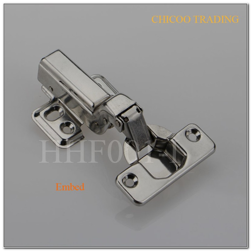 Stainless Steel Flush Cabinet Hinges