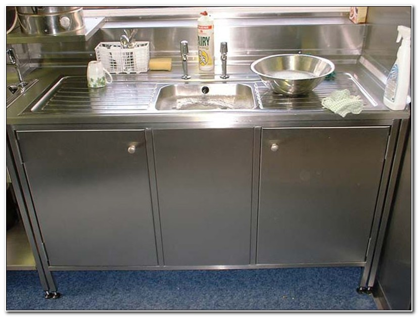 Stainless Steel Kitchen Sink Cabinets