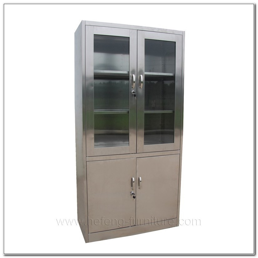 Stainless Steel Medical Cabinets Used