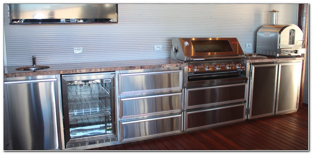 Stainless Steel Outdoor Bbq Kitchens