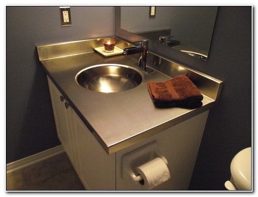 Stainless Steel Sink With Vanity