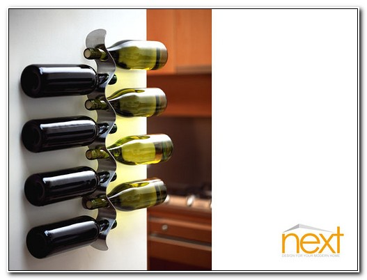 Stainless Steel Wine Rack Wall Mounted