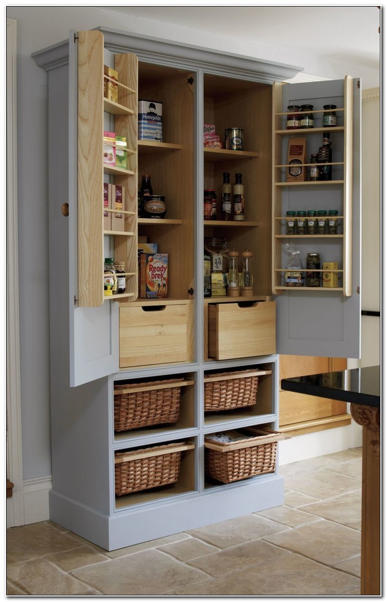 Stand Alone Pantry Cabinets
