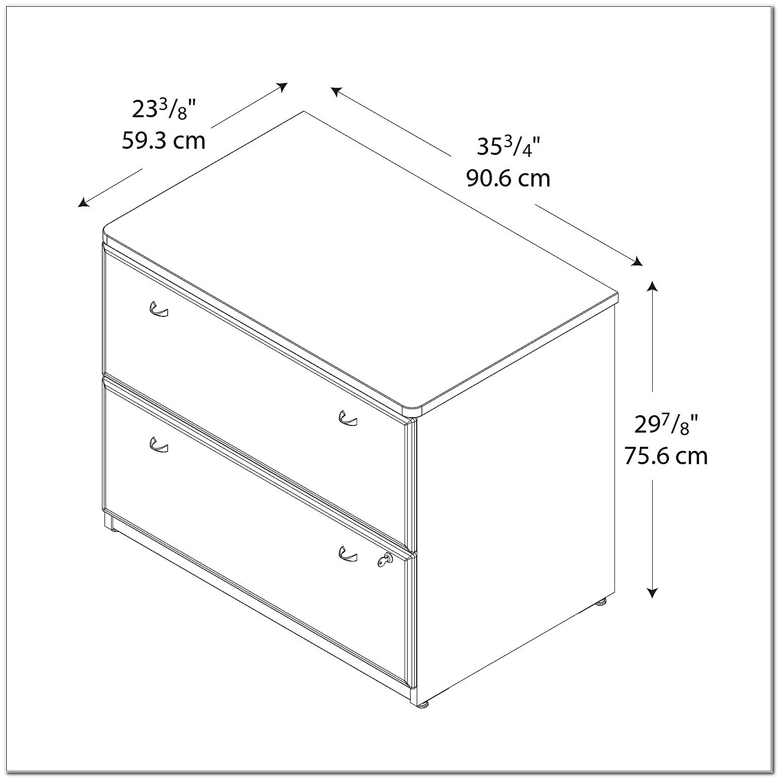 Standard Lateral File Cabinet Dimensions