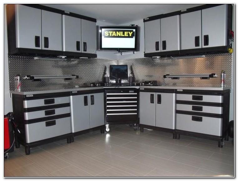 Stanley Garage Storage Wall Cabinet