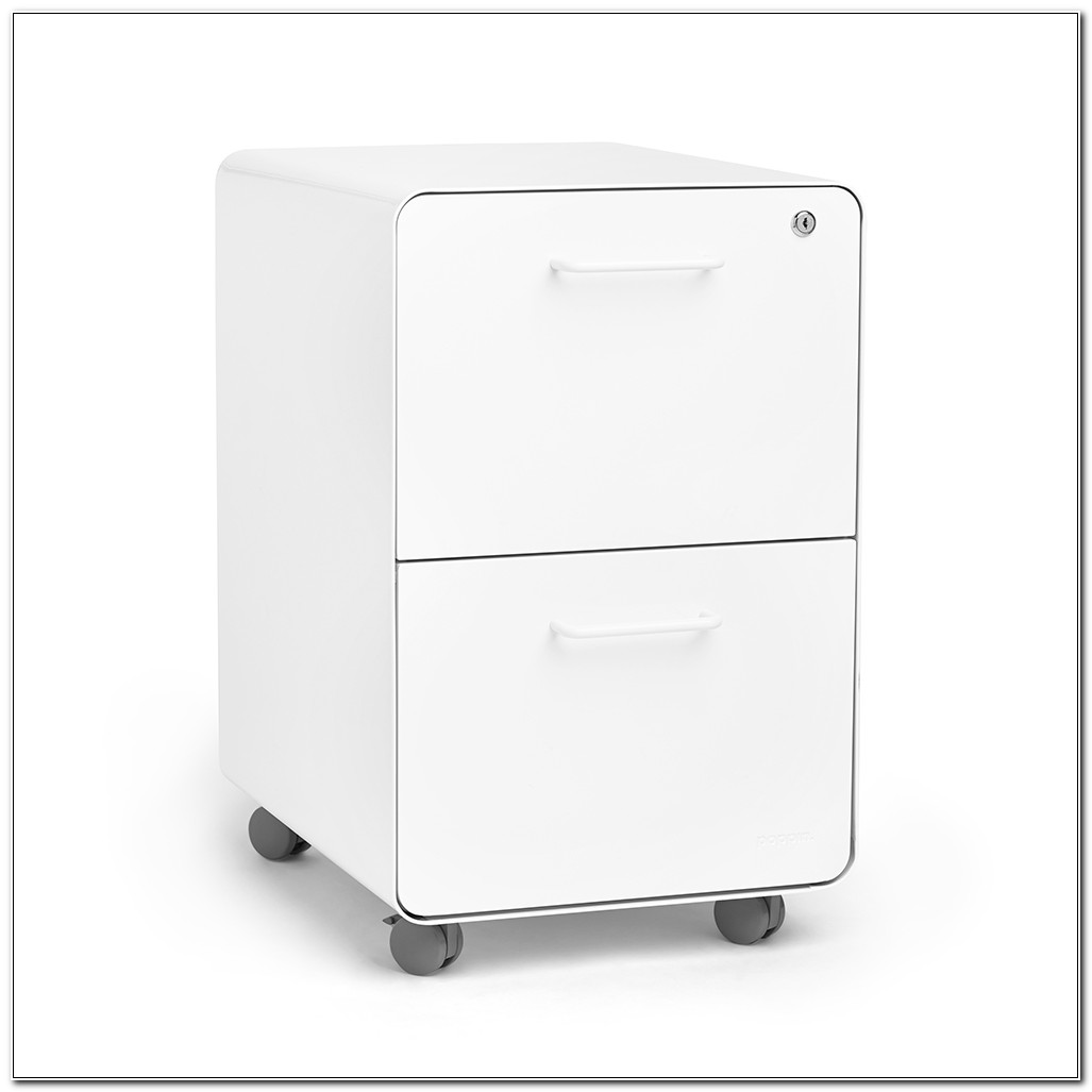 Staples 2 Drawer Mobile File Cabinet
