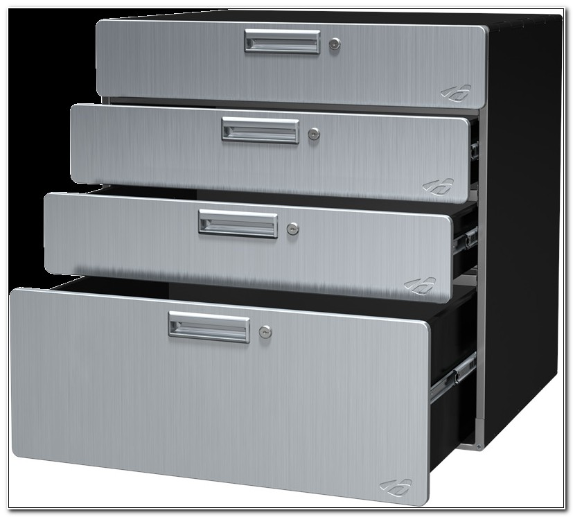 Steel Cabinet With Drawers