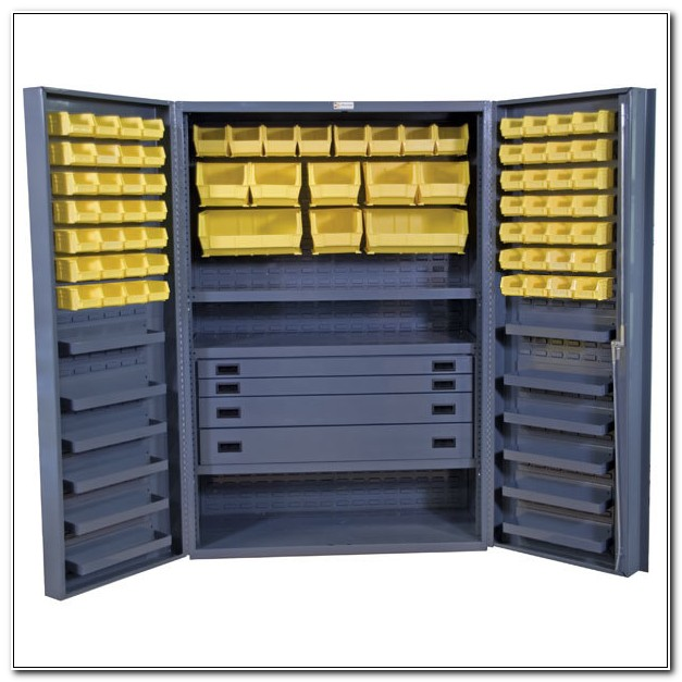Steel Storage Cabinet With Drawers