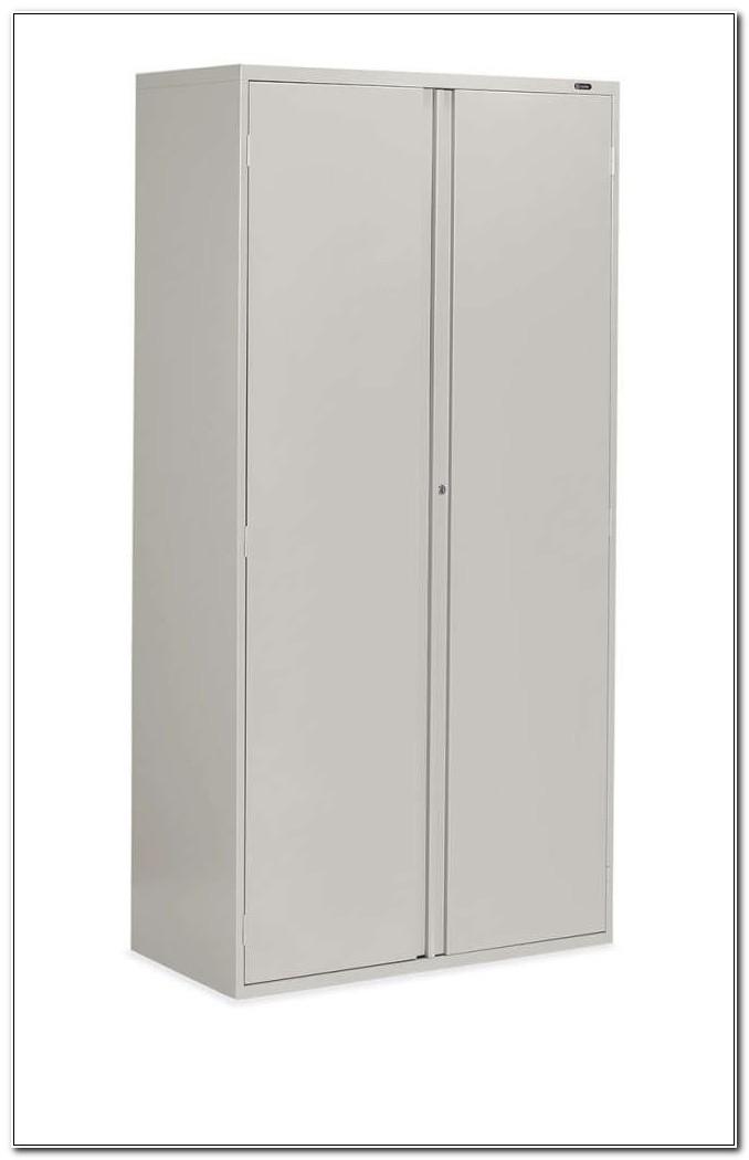 Storage Cabinet With Locker
