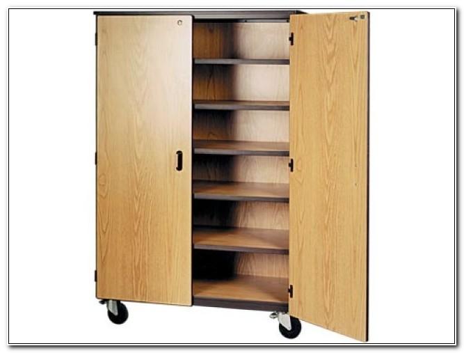 Storage Cabinets With Locking Doors