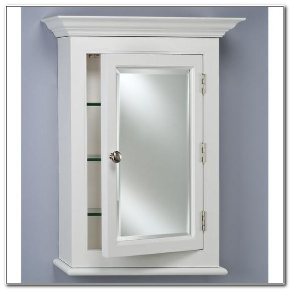 Surface Mount Medicine Cabinet White