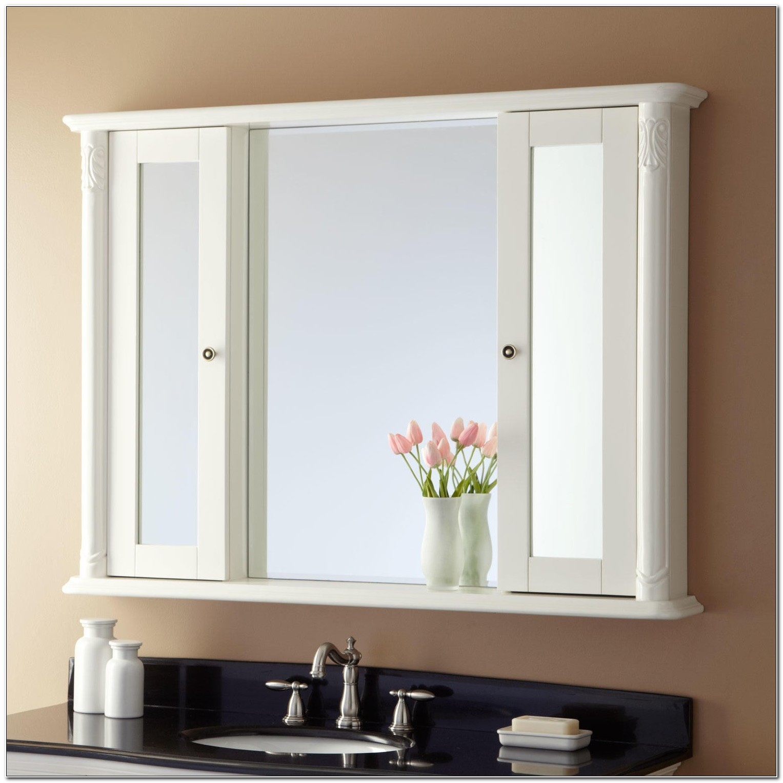 Surface Mount Mirrored Medicine Cabinet