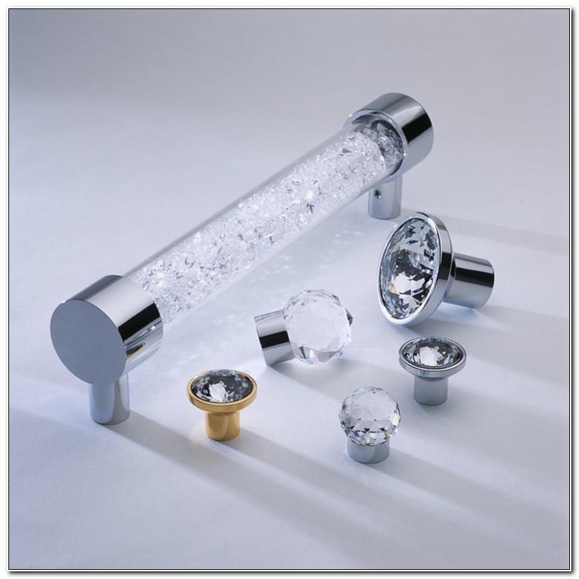 Swarovski Crystal Knobs For Cabinets