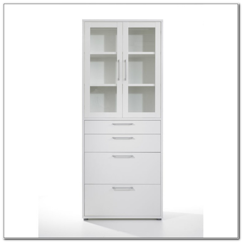 Tall Cabinet With Drawers And Doors