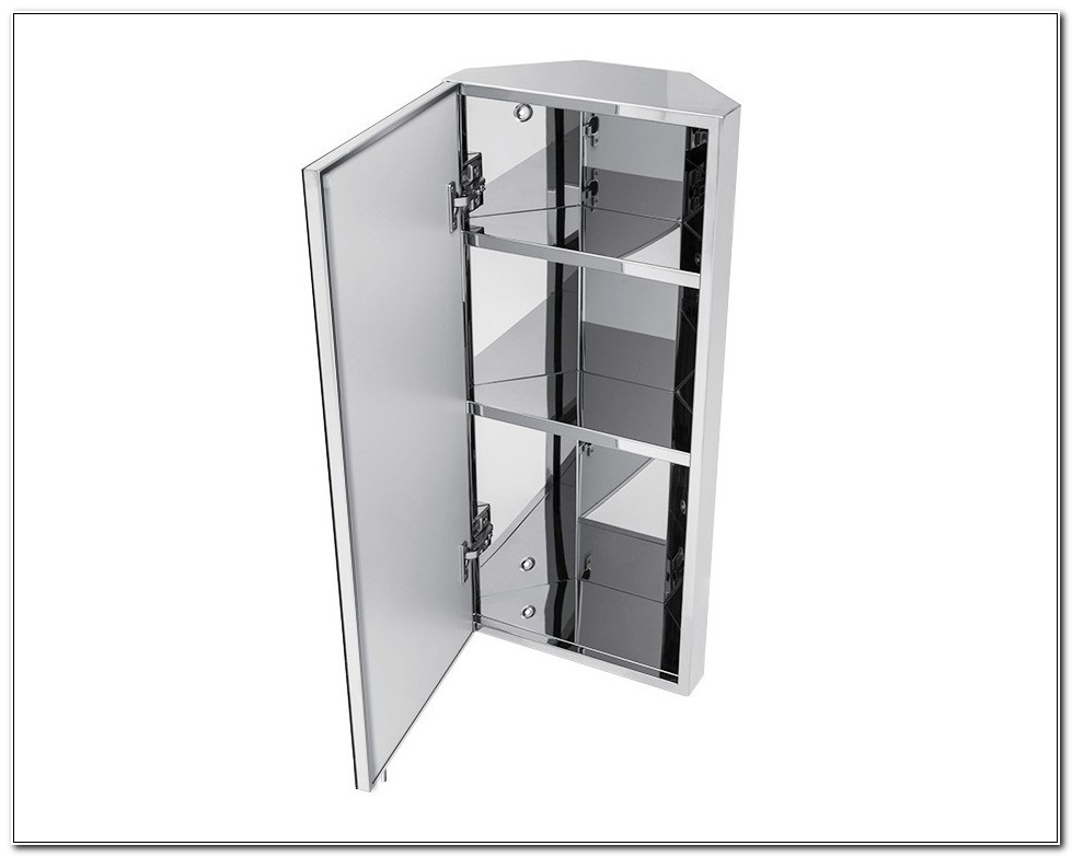 Tall Corner Bathroom Cabinets Stainless Steel