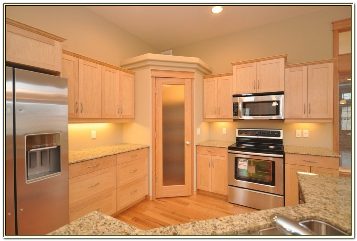 Tall Corner Kitchen Cabinet With Doors