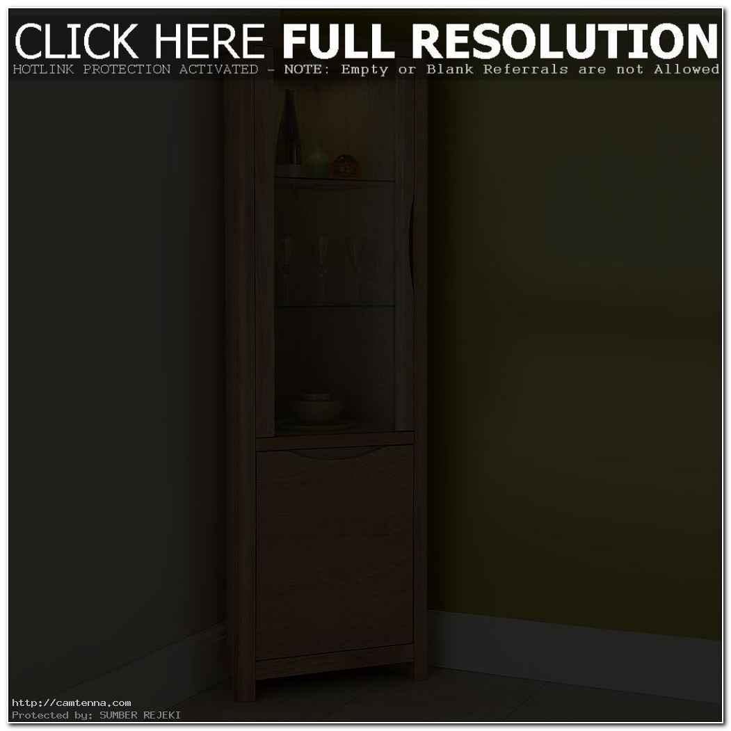 Tall Narrow Corner Cabinet With Doors