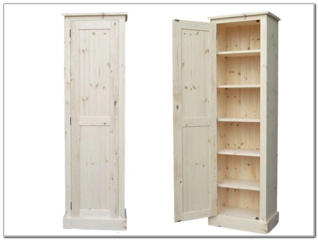 Tall Narrow White Linen Cabinet