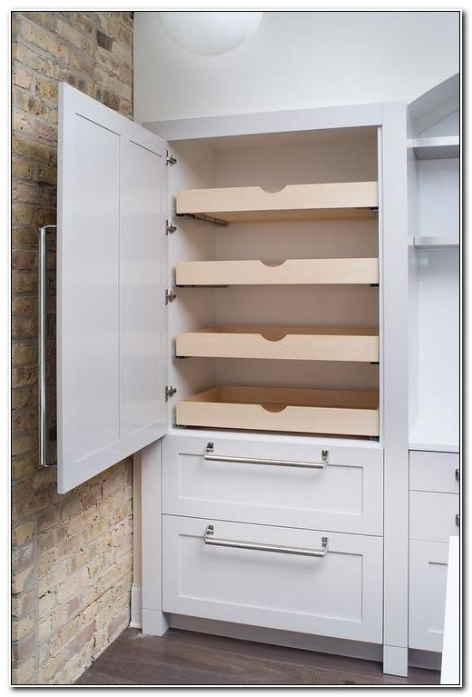 Tall Pantry Cabinet With Drawers