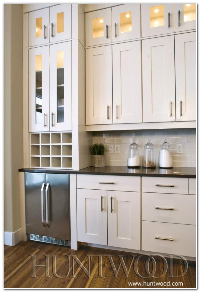 Tall Pantry Cabinet With Glass Doors