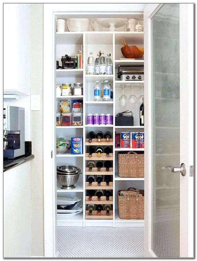 Tall Solid Pine Kitchen Cabinet Pantry