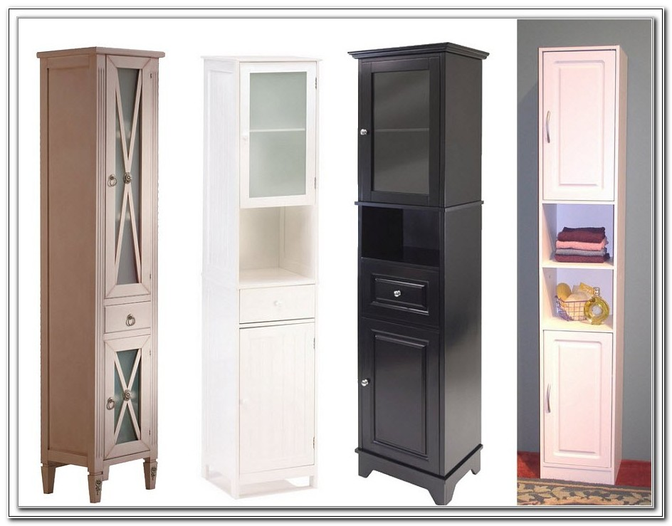 Tall Thin Cabinet With Doors