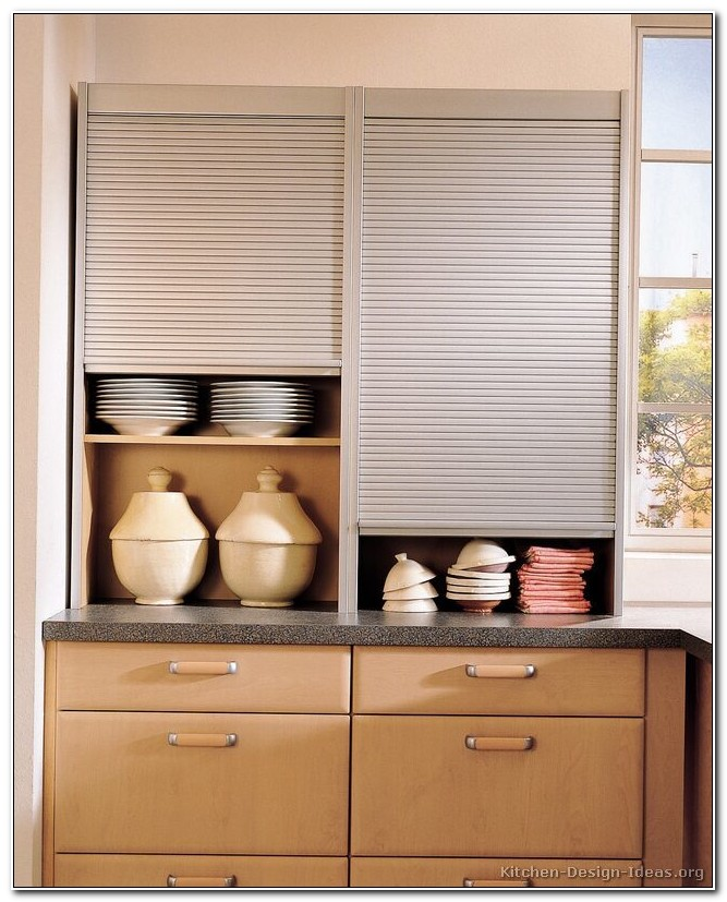 Tambour Kitchen Cupboard Doors