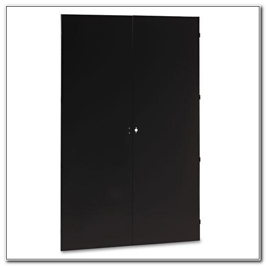 Tennsco Jumbo Storage Cabinet Black Steel