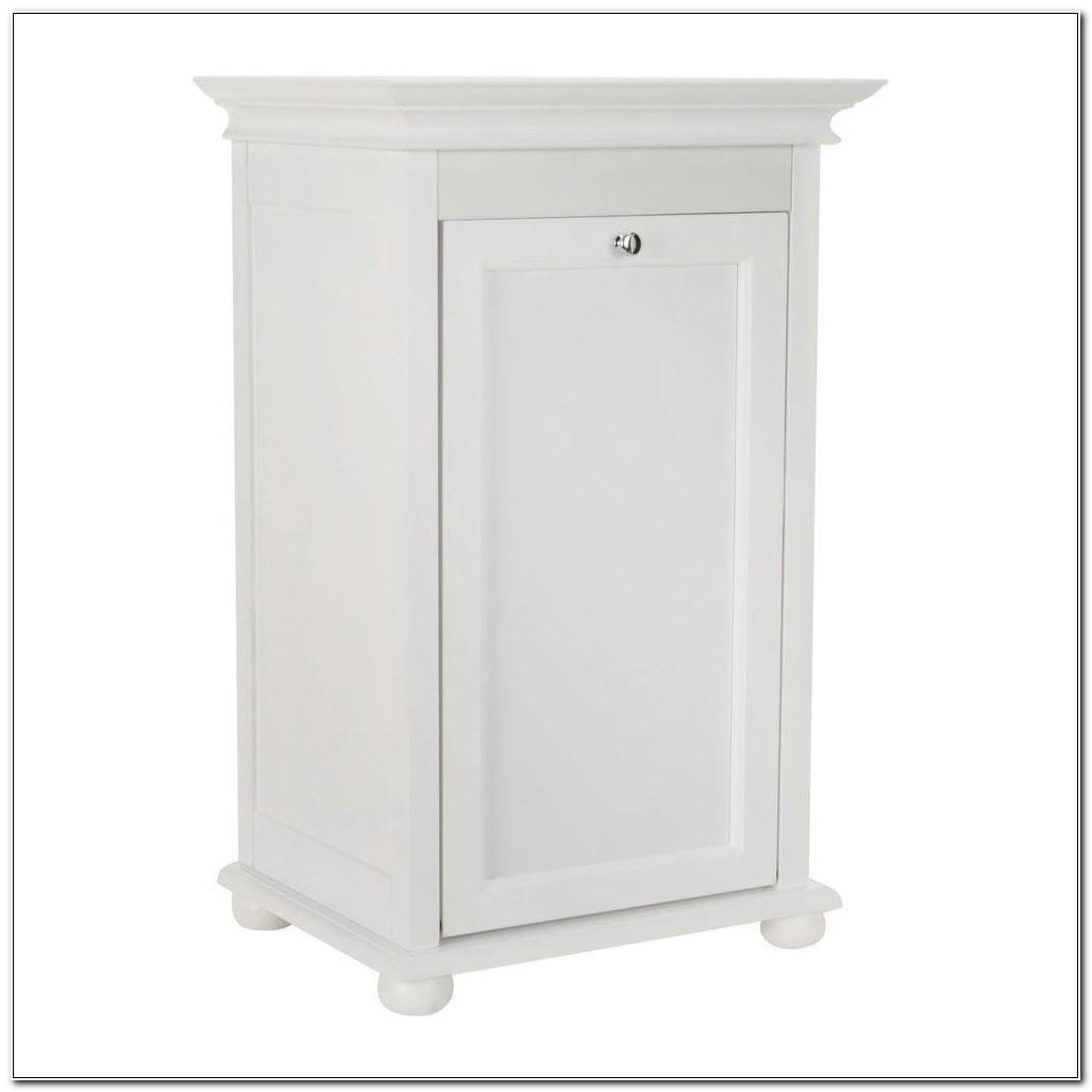 Tilt Out Hamper Cabinet
