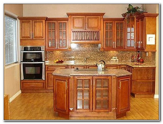 Titan Maple Glaze Kitchen Cabinets