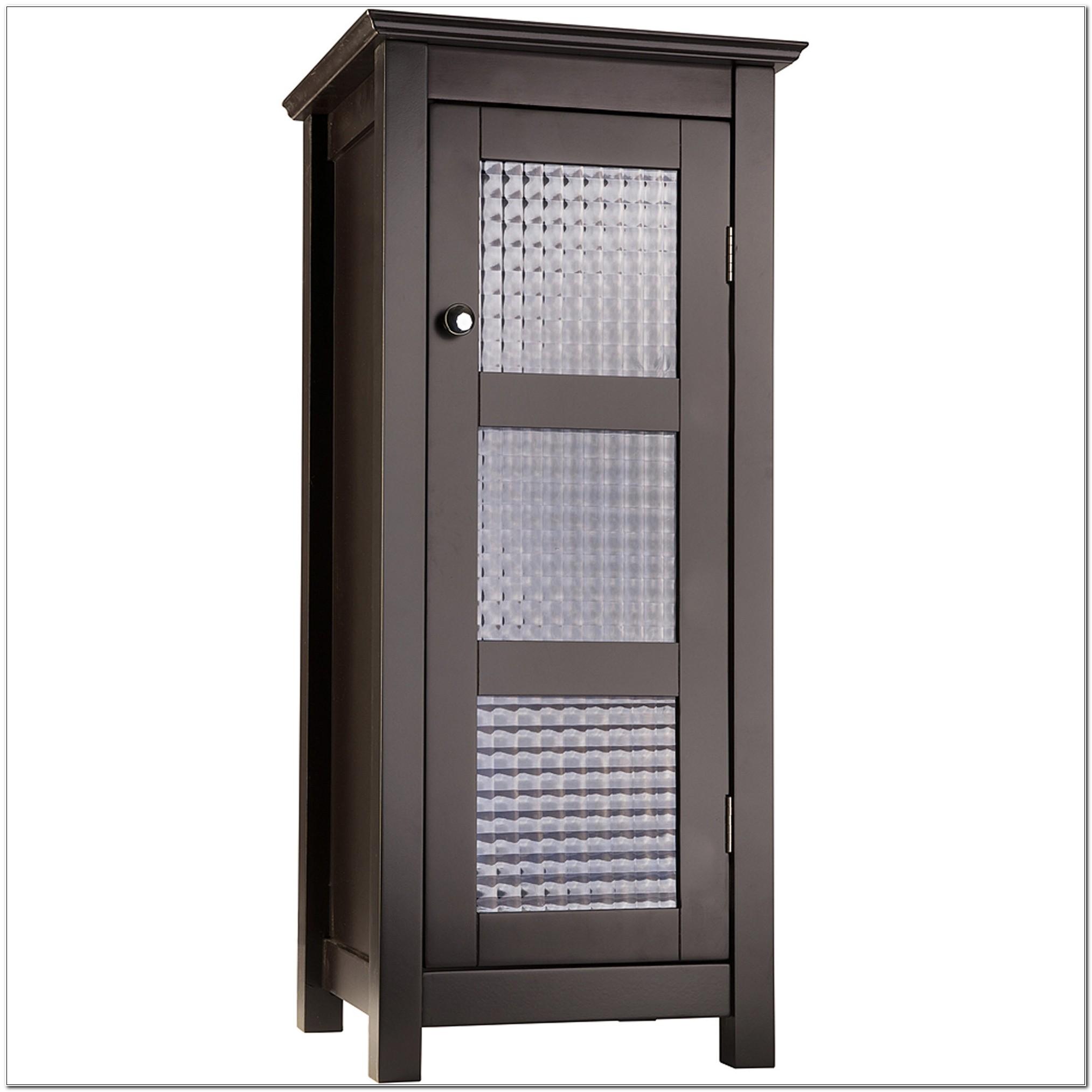 Torino Floor Cabinet With Glass Door