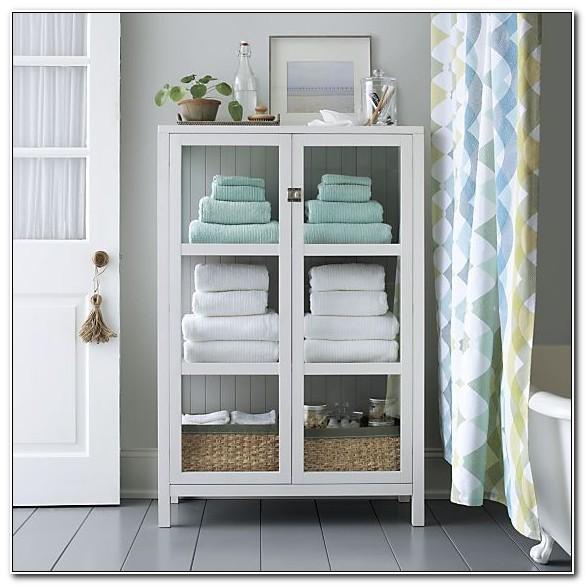 Towel Storage Cabinet For Bathroom