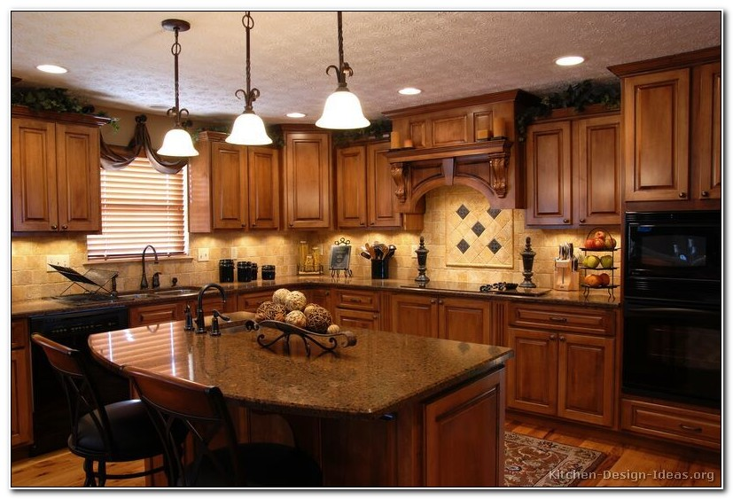 Tuscan Style Kitchen Design Ideas