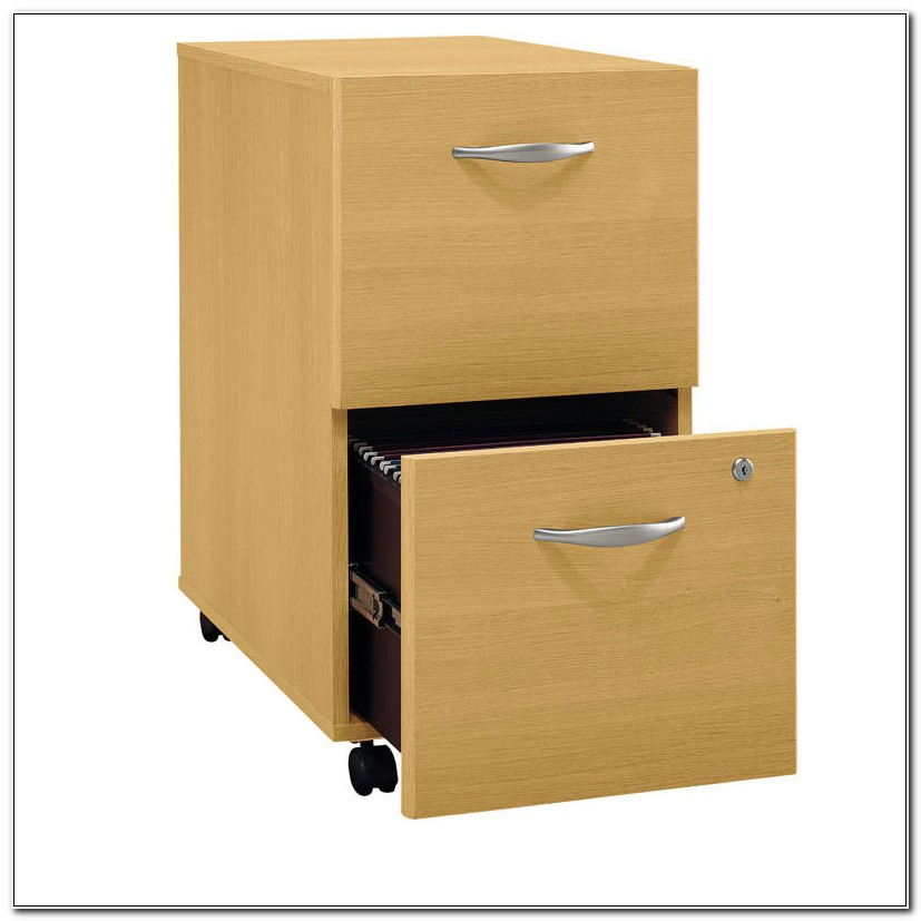 Two Drawer Vertical File Cabinet Wood