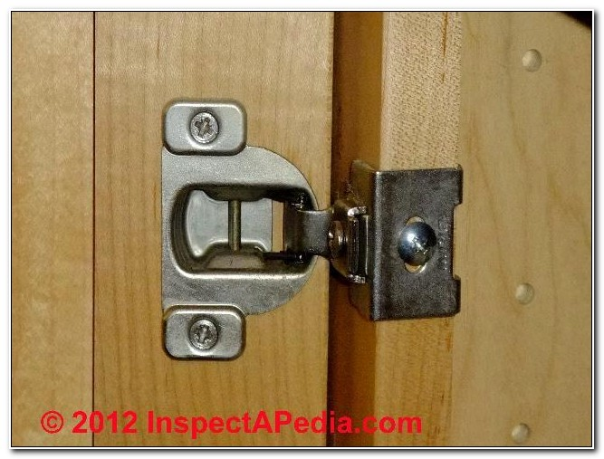 Types Of Exposed Cabinet Hinges
