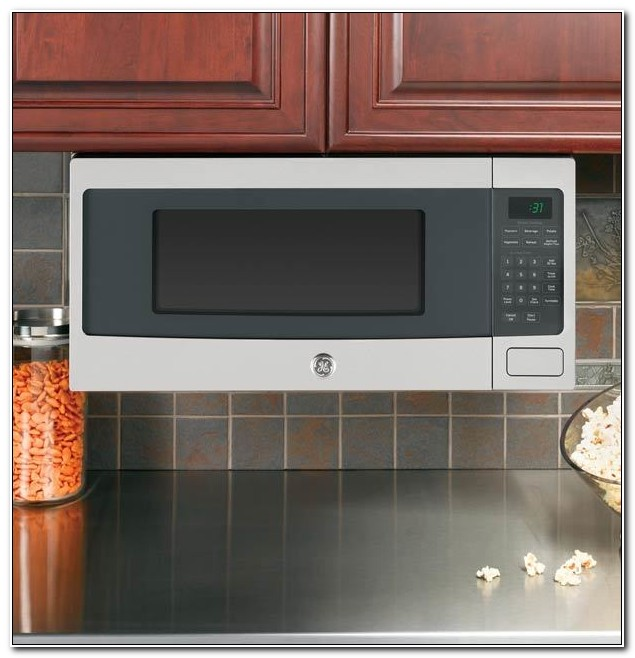 Under Cabinet Mounted Microwave Stainless