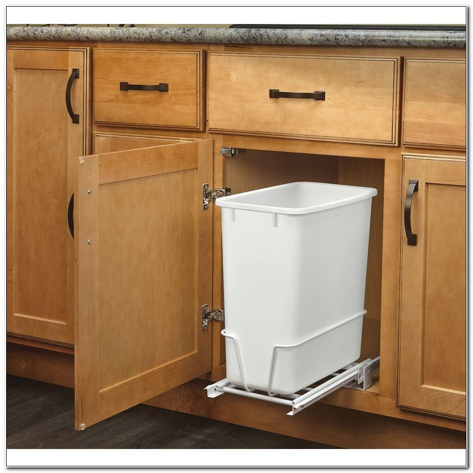 Under Counter Trash Pull Out