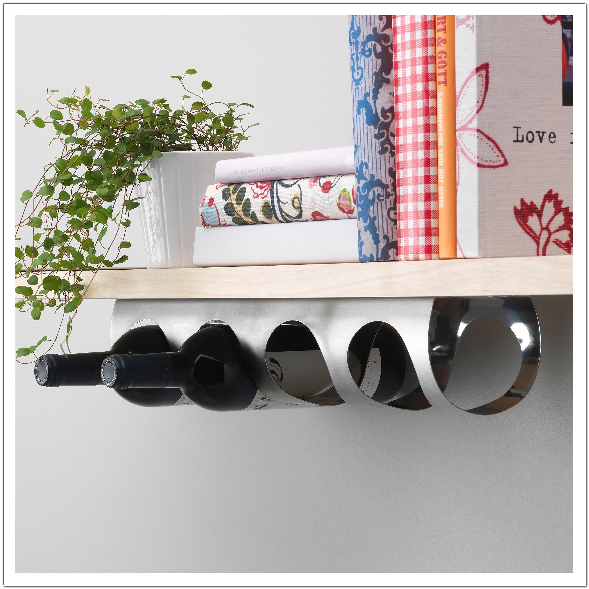 Under Counter Wine Rack Ikea