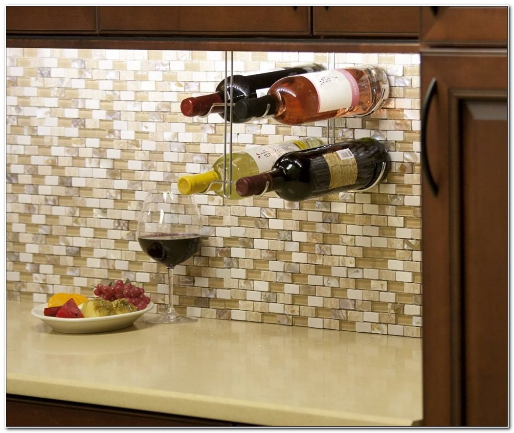 Under Counter Wine Rack Kitchen